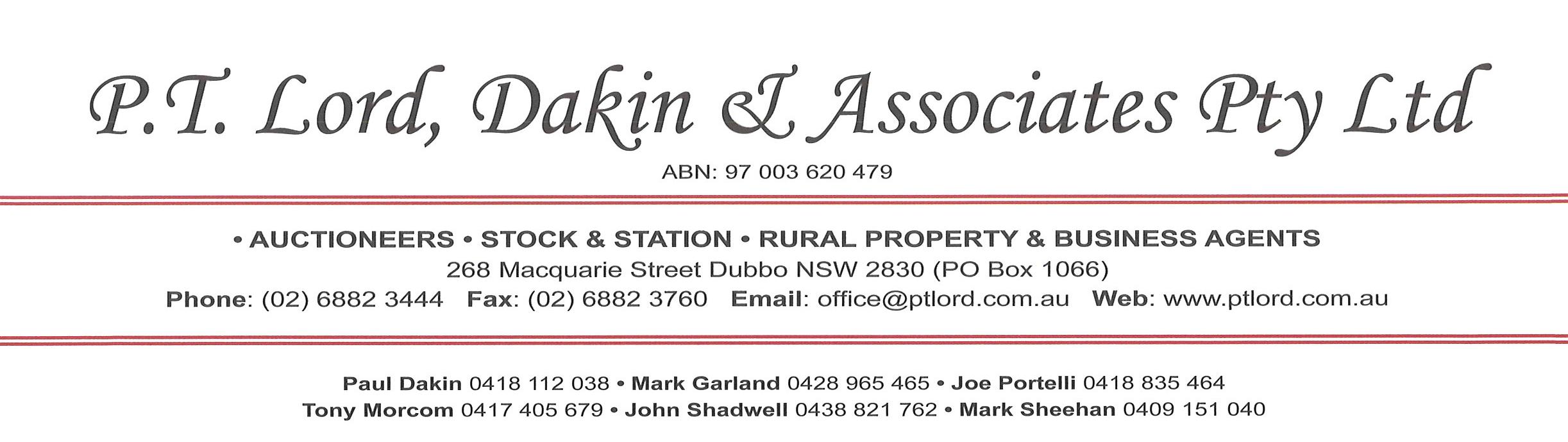 Agency logo - P.T. Lord, Dakin & Associates