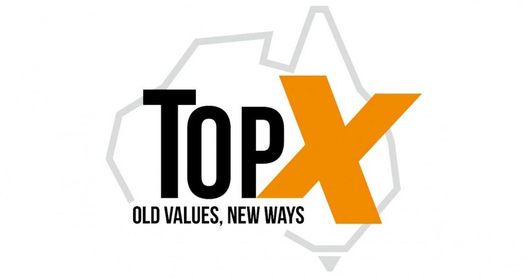 Agency logo - TopX