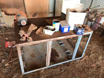 Work Bench & Eletric Motor & Fencing Gear