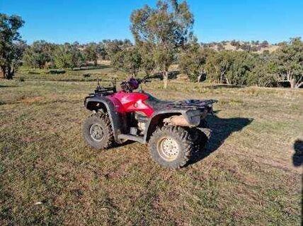 Honda TRX 500 4 Wheel Motorbike