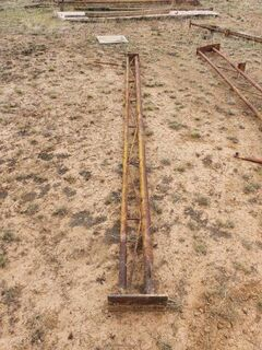 Shed Trusses, Posts & Trimdeck