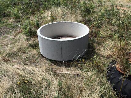 Round Cement Trough