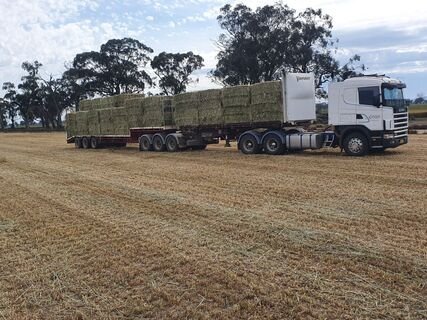 1 x 40T B Double load Silage