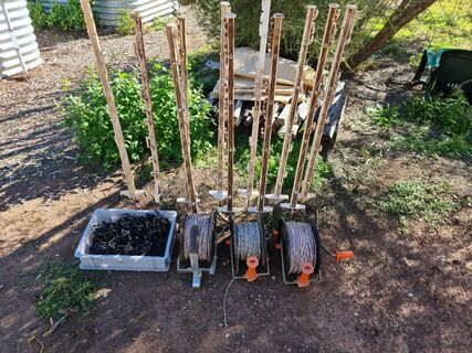 Electric Fence Reels & Posts