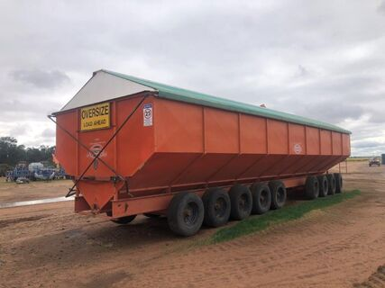 Dunstan 110 tonne Mother Bin