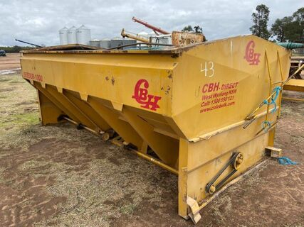 CBH Seeder 100 Twin-Box Grouper