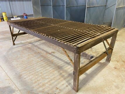 Timber Wool Classing Table