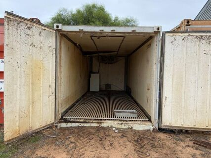 20' Shipping Container (White/Refrigerated)