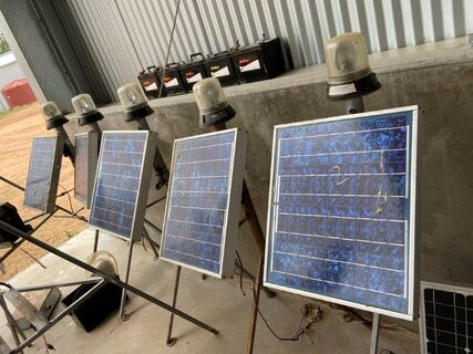 5x Ducklight Solar Panels