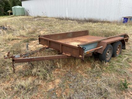 3100mm x 2000mm Tandem Farm Trailer