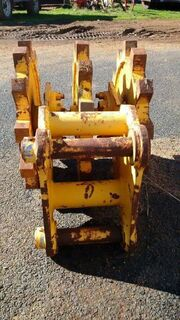 TRENCH COMPACTOR WHEELS TO SUIT BACKHOE