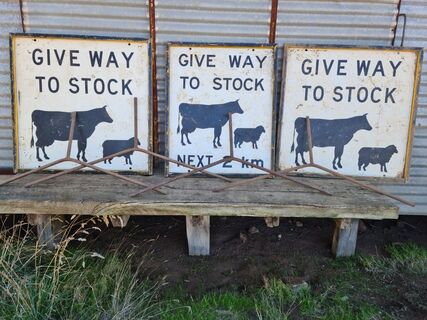 Stock Signs