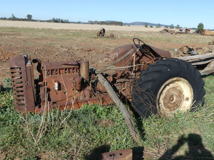 Old tractor (scrap only )