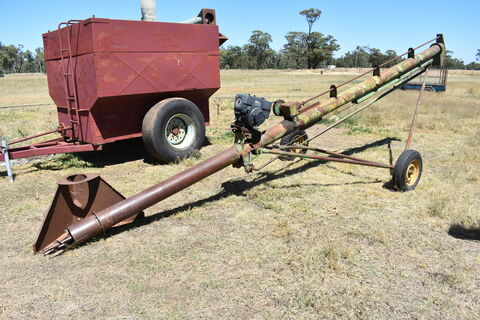 24ft x 7 inch auger