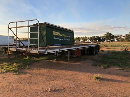 42 foot Freighter bogie flat top trailer