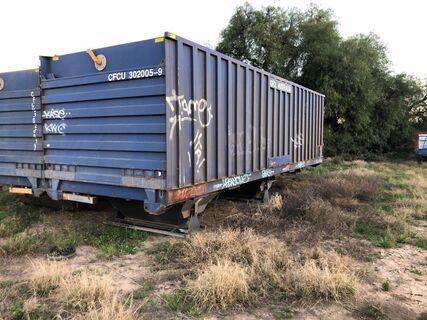 9m Railway grain bin