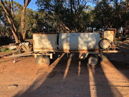 Farm diesel trailer