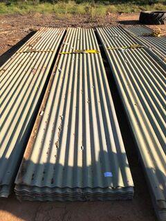 Colourbond corrugated iron