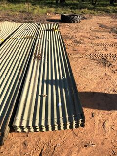 Colour bondcorrugated iron