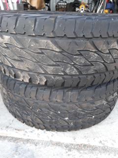 2 x 265/65R17 Bridgestone A/T Tyres