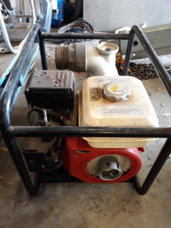 1 x TWM engine with high flow pump (not operational)