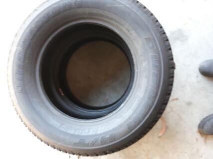 2 x Bridgestone Dueler H/T 265/65R17 (new)