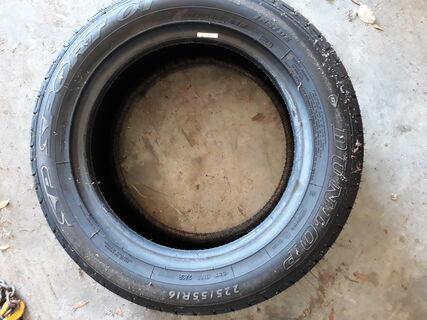 1 x Dunlop sport 225/55R16 (new)