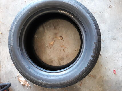 1 x Bridgestone Potenza 225/55R16 (new)