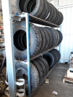 Tyre Rack (tyres sold seperately)