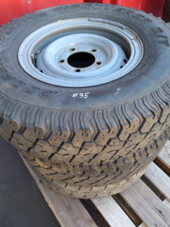 4 x Cooper Discovery 235/85R16 on Landcruiser 5 stud rims