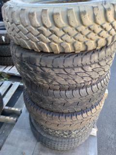 """6 x assorted 16"""" tyres"""