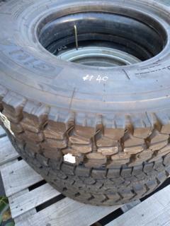 """4 x assorted 16"""" tyres"""
