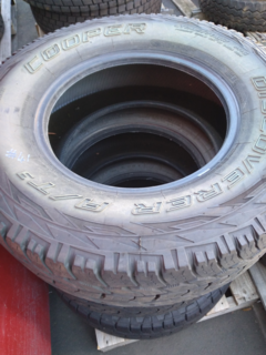 "3 x Cooper Discoverer AT/3 17"" tyres"
