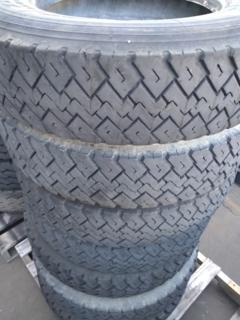 6 x Michelin XZT 8.5R17.5