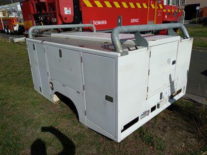 Cooks vehicle body 2500L x 1850W x 1200H