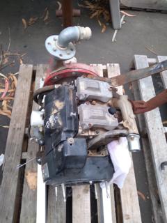 Ruggerini MD191 & Gaam Mk125 pump