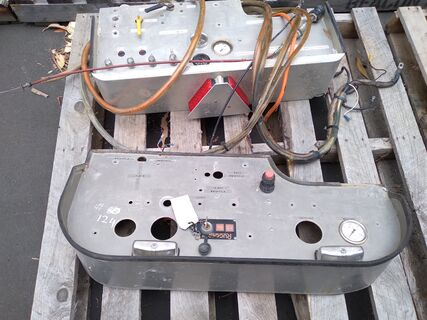 Gauge pannels, switches & wiring