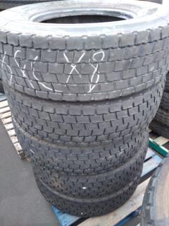 5 x Michelin 295/80R22.5 XDE