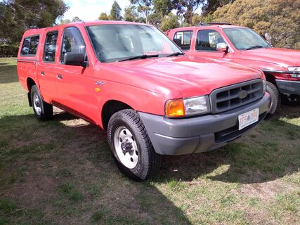 1990 Ford Courier Dual Cab Diesel 4x4
