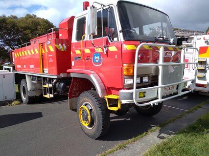 1990 Hino GT175 11.6t Diesel 4x4 fire truck