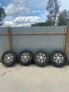 4 x Hilux Wheels & Tyres