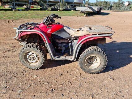 Honda TRX 420 FPE  4 Wheel Motorbike