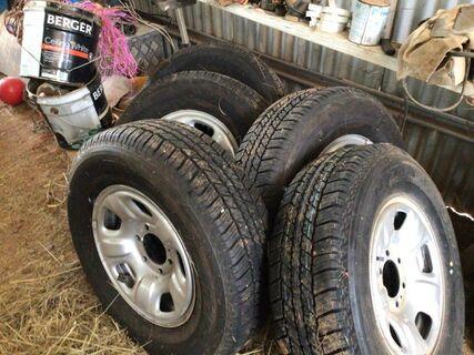 Colorado Tyres & Rims