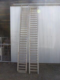 Digga Aluminium Loading Ramps x 2