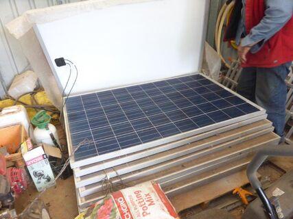 250 Watt Solar Panels x 9