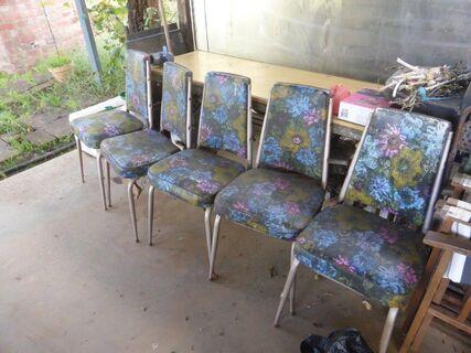 Retro Laminex Table & Chairs