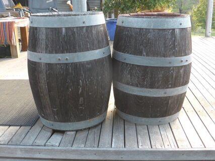 Small Wine Barrells x 2