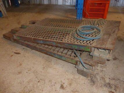 Cattle Scales & Steel Weigh Platform