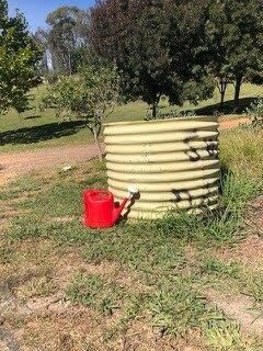 Old Corrugated Iron Tank