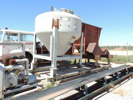 CEMENT BATCHING PLANT + CONVEYOR + SCALES